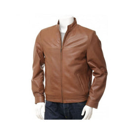Leather Jacket M.No 9