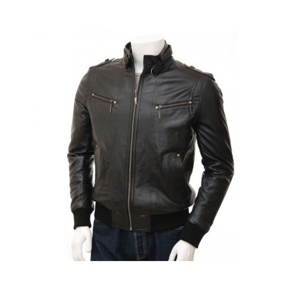 Leather Jacket M.No 5