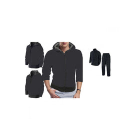 Winter Breaker Hooded Sweat Jacket With Rain Breaker Complete Rain Suit With Carry Bag