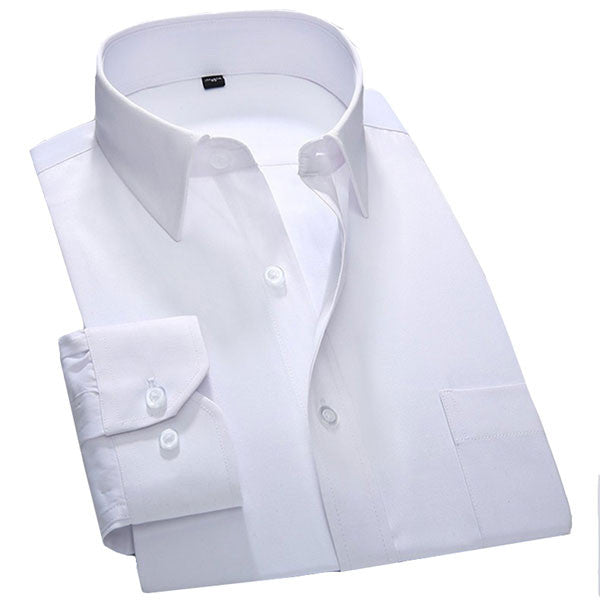 White Mens Formal Shirt