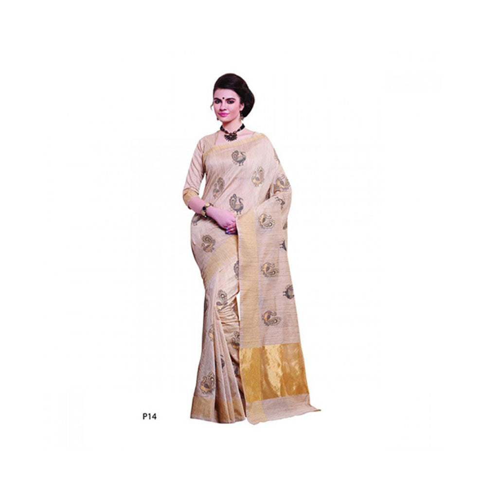 Banaras Supernet Saree With Blouse Piece -M.No 79