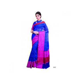 Banaras Supernet Saree With Blouse Piece -M.No 81