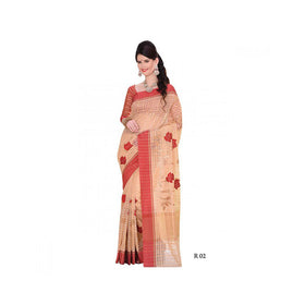 Banaras Supernet Saree With Blouse Piece -M.No 85