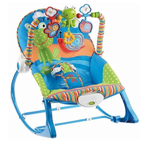 Infant to Toddler Rocker Chair with Calming Vibrations