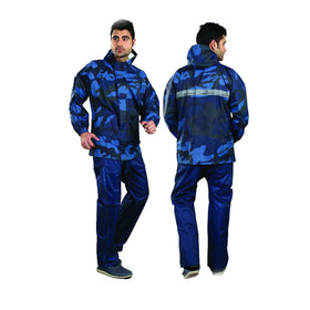 Mens Reversible Spark Tapping Rain Suit