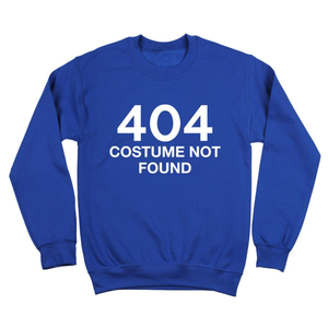 Last minute halloween costume, funny, 404 costume not found