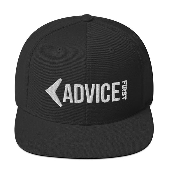 Advice First Snapback Hat