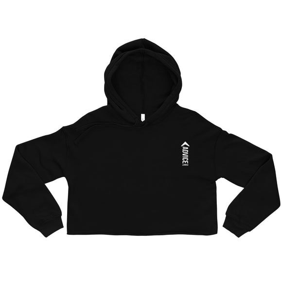 Advice First Women's Crop Hoodie