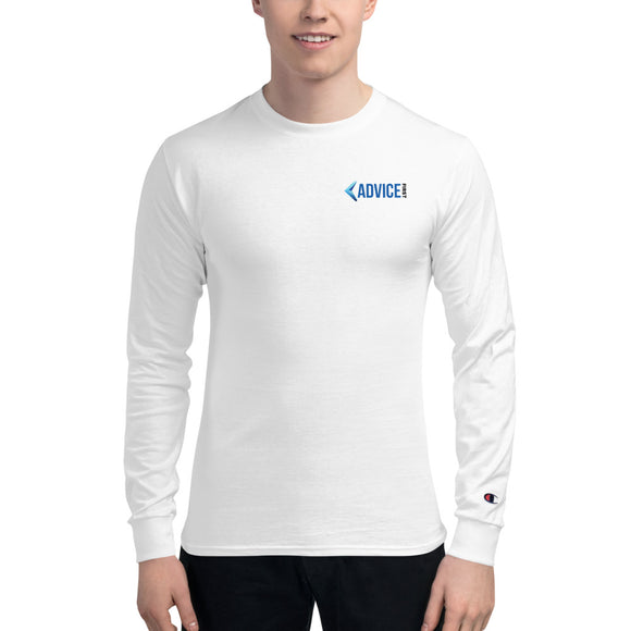 Advice First Men's Champion Long Sleeve Shirt