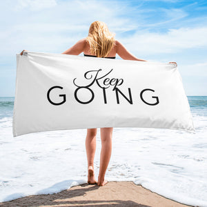 Keep Going Towel