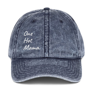 One Hot Mama Baseball Cap