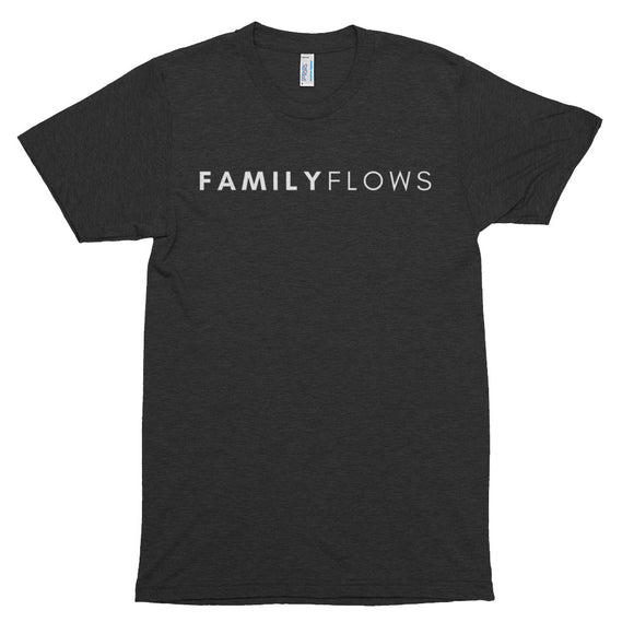 Family Flows T - White Letters