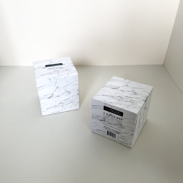 White Marble (Price for 4 tissue boxes)