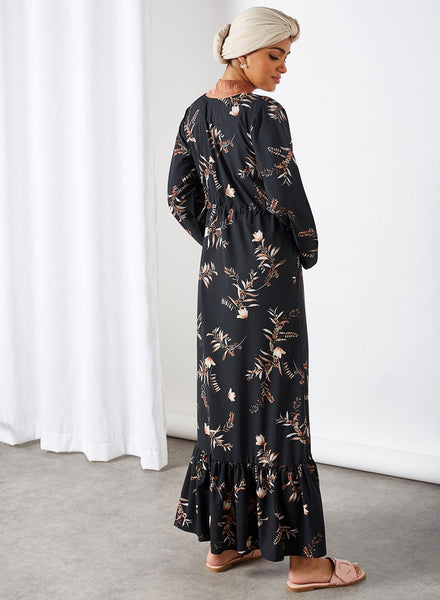 Nukhbaa floral dress