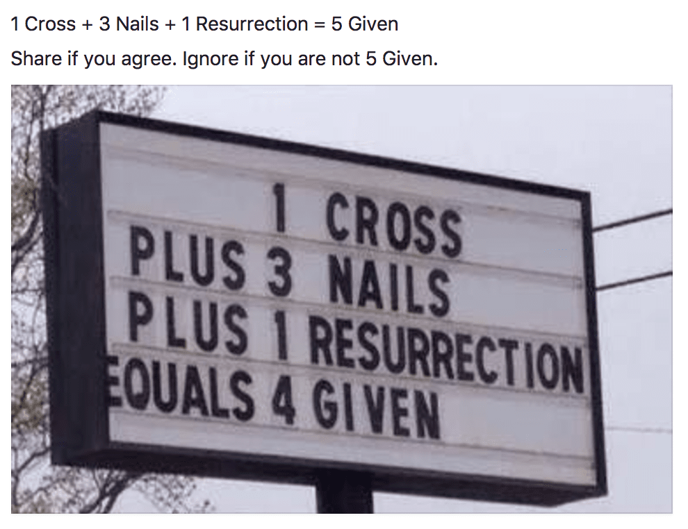 Christian Memes of the Week -