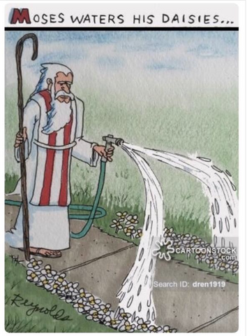 moses splitting water meme - christian funny memes - catholic religion