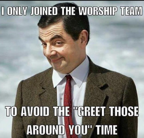 worship team christian meme