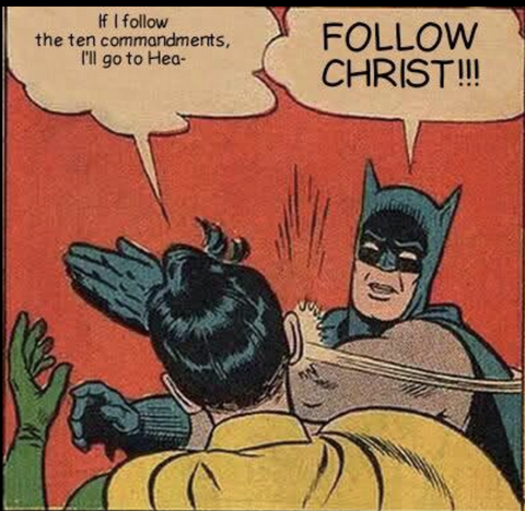 batman funny christian meme