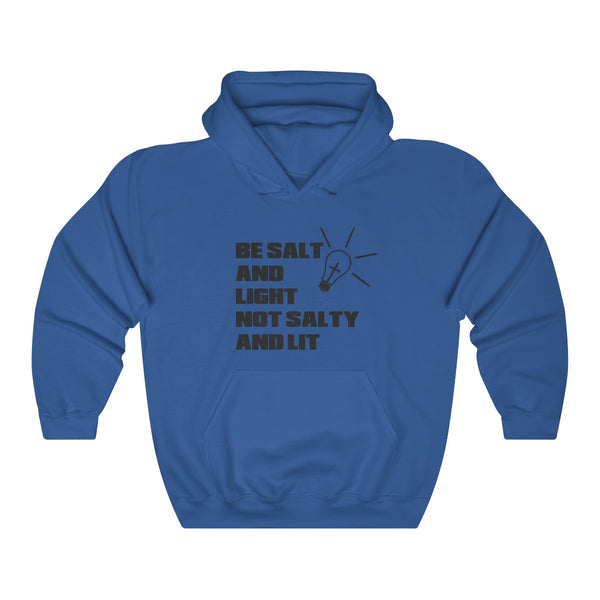 Be Salt & Light, Not Salty & Lit Hoodie