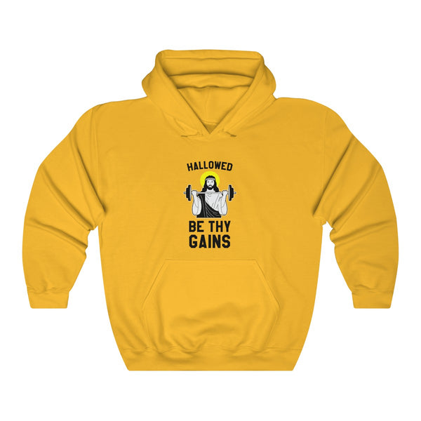 Hallowed Be Thy Gains Hoodie