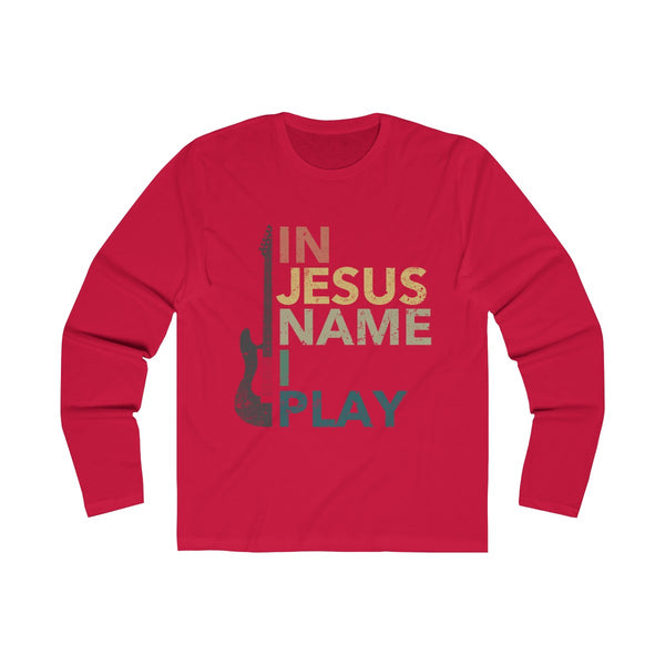 In Jesus Name I Play Long Sleeve