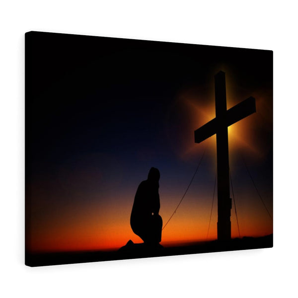 Cross Landscape Wall Canvas