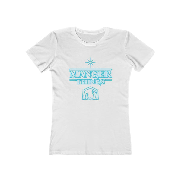 Manger Things Ladies T-Shirt