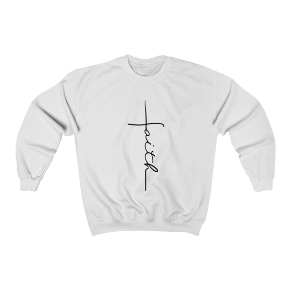 Faith Black Sweatshirt