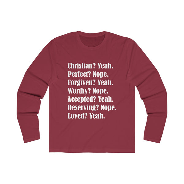 Christian Yeah Perfect Nope Long Sleeve
