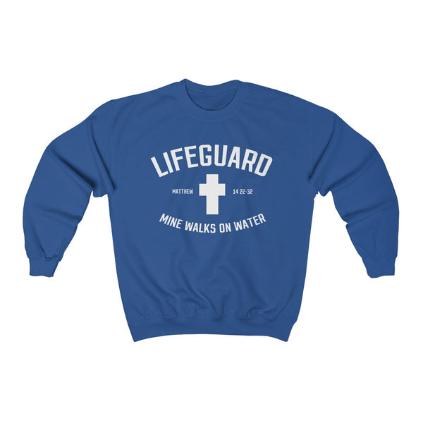Lifeguard Mine Walks On Water Sweatshirt