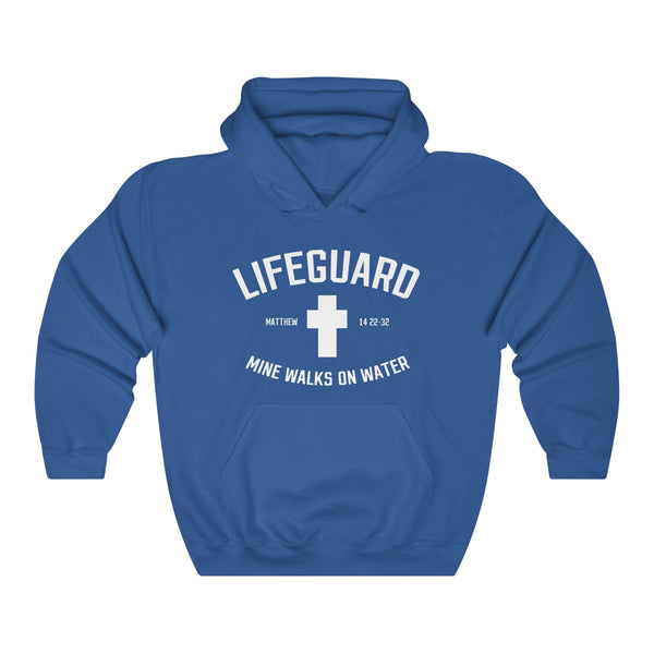 Lifeguard Mine Walks On Water Hoodie