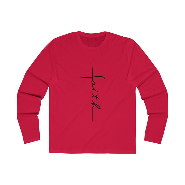 Faith Black Long Sleeve
