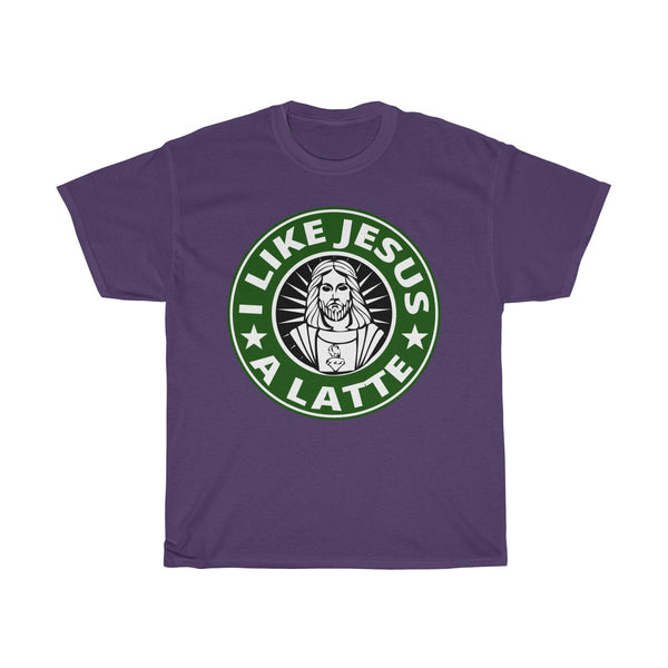 I Like Jesus A Latte T-Shirt