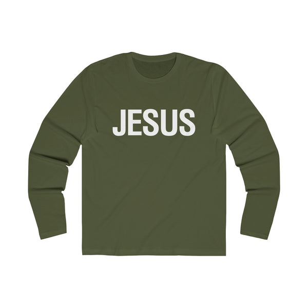 Jesus Text Long Sleeve T-Shirt