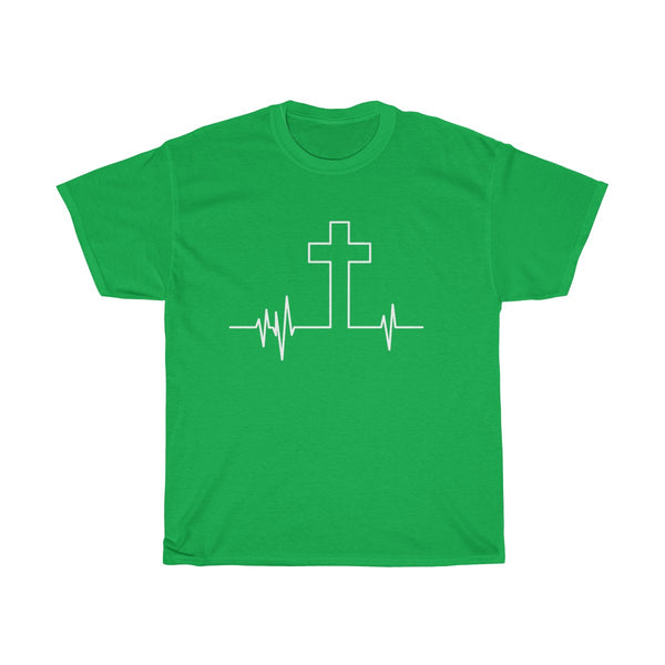 Cross Heartbeat T-Shirt
