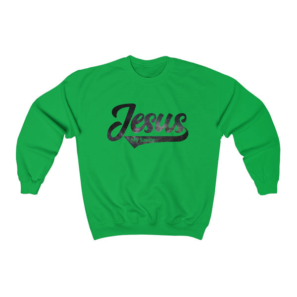 Jesus Textured Sweatshirt