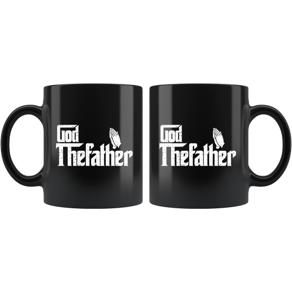 God Thefather - 11oz Black Mug