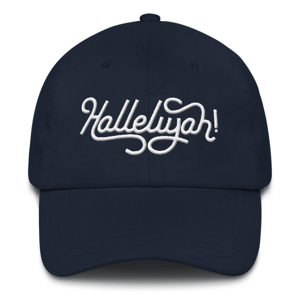 Hallelujah Embroidered Hat