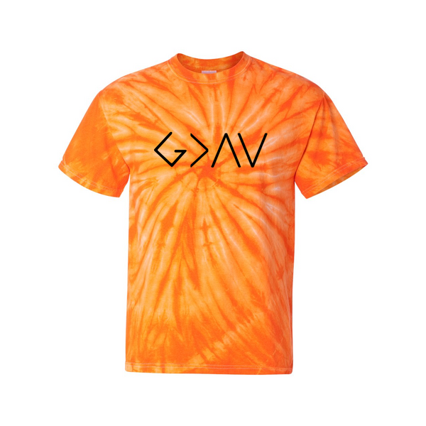God Greater Than Highs and Lows Dye T-shirt