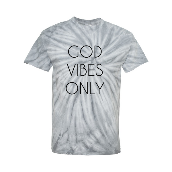 God Vibes Only Dye T-shirt