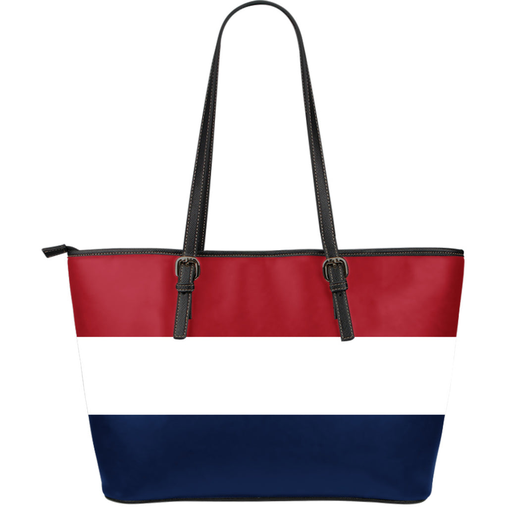 Classic Red White Blue Large Tote