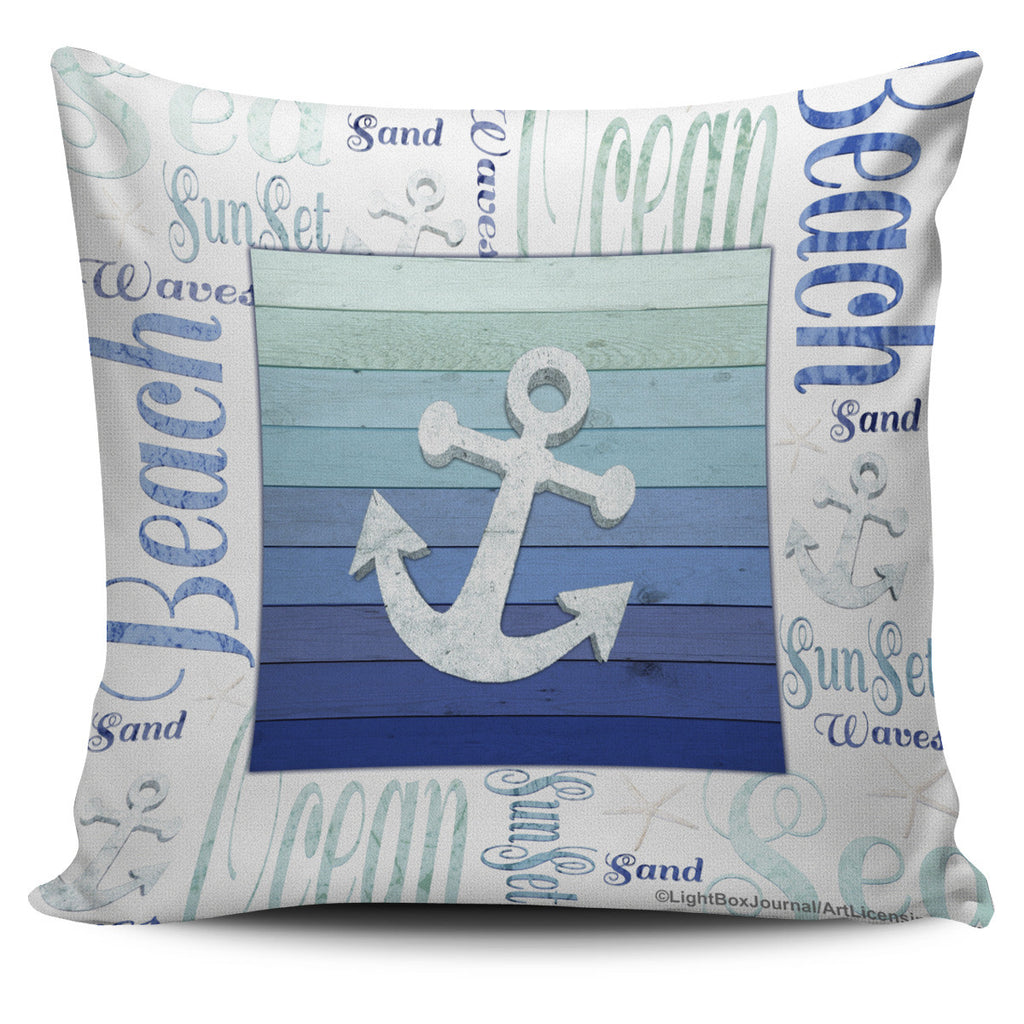 Nautical Inspirations in Blue - Pillow Covers
