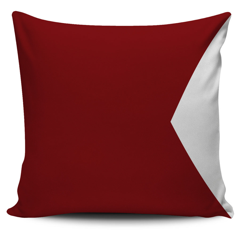 Nautical signal flag letter B pillow cover beach decor