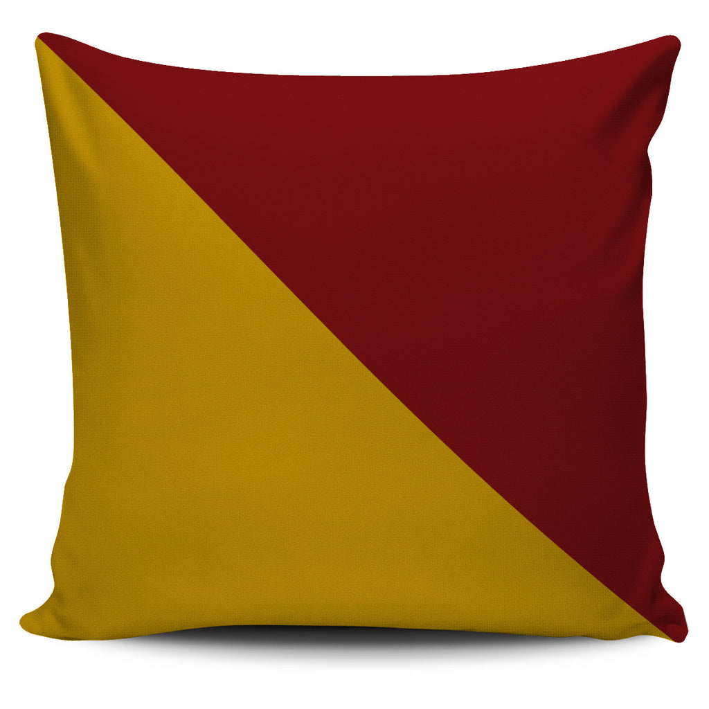 Letter O - Nautical Signal Flag Pillow Cover