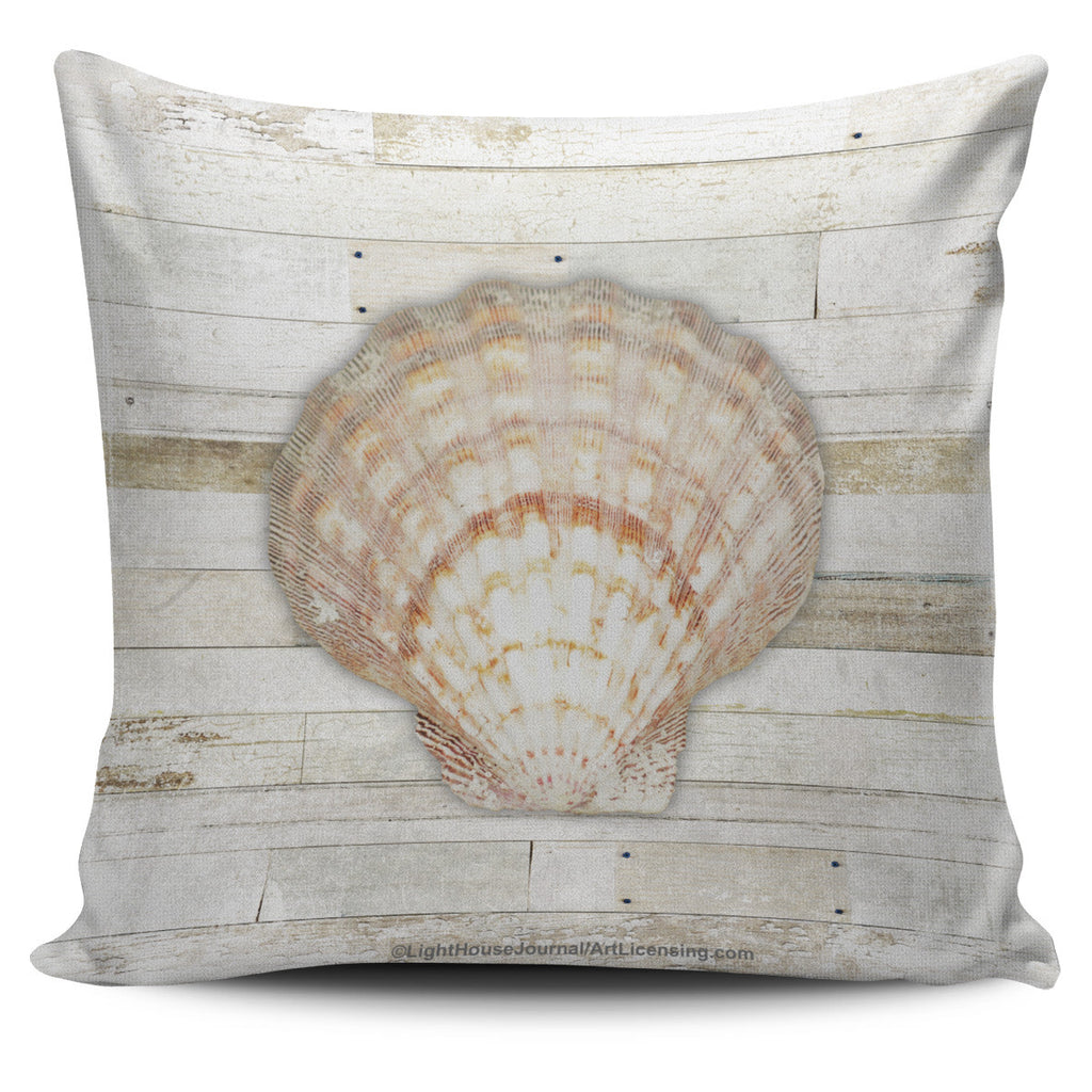 Beach Cottage Shellfish Collection - Pillow Covers