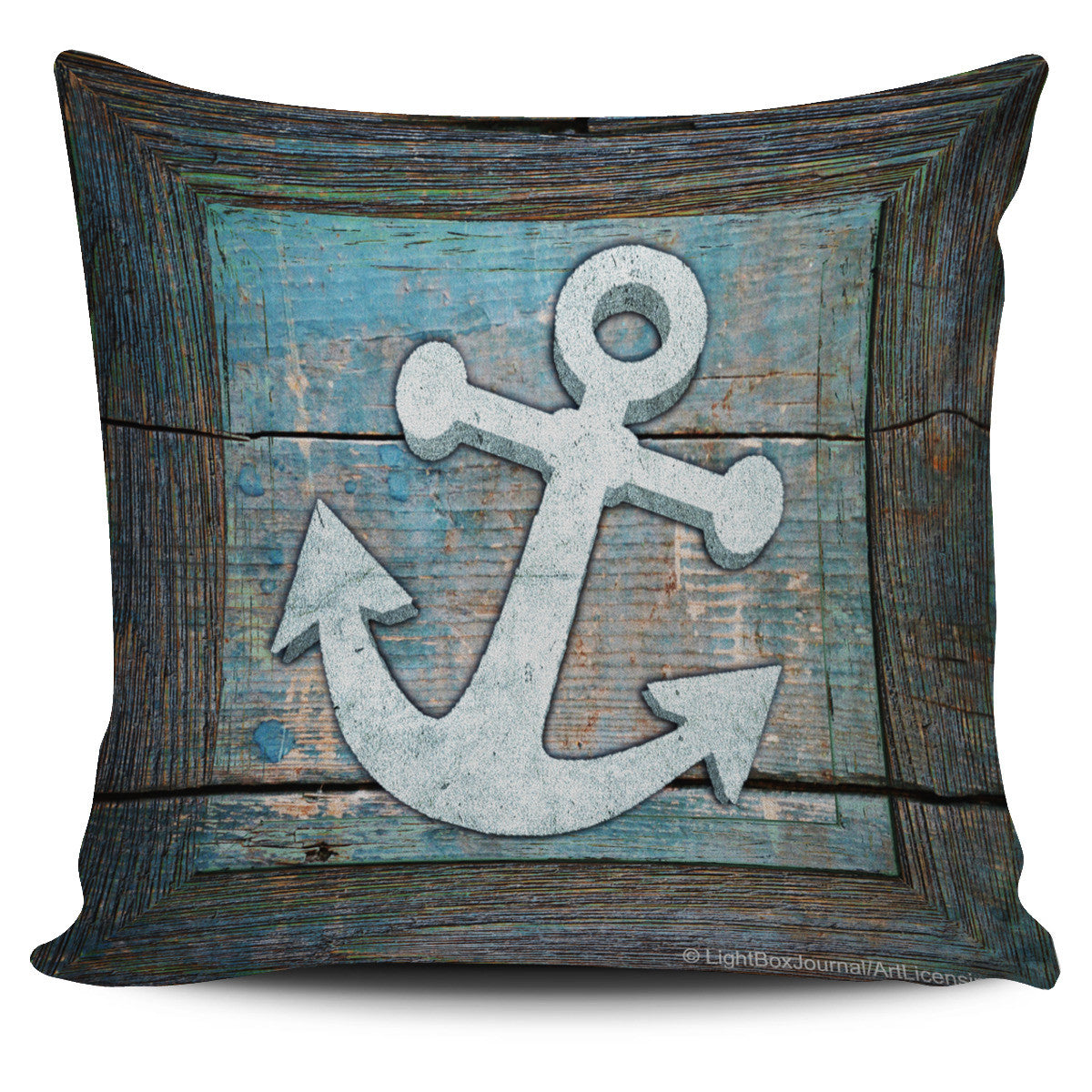 Nautical Wood Frame - Pillow Covers