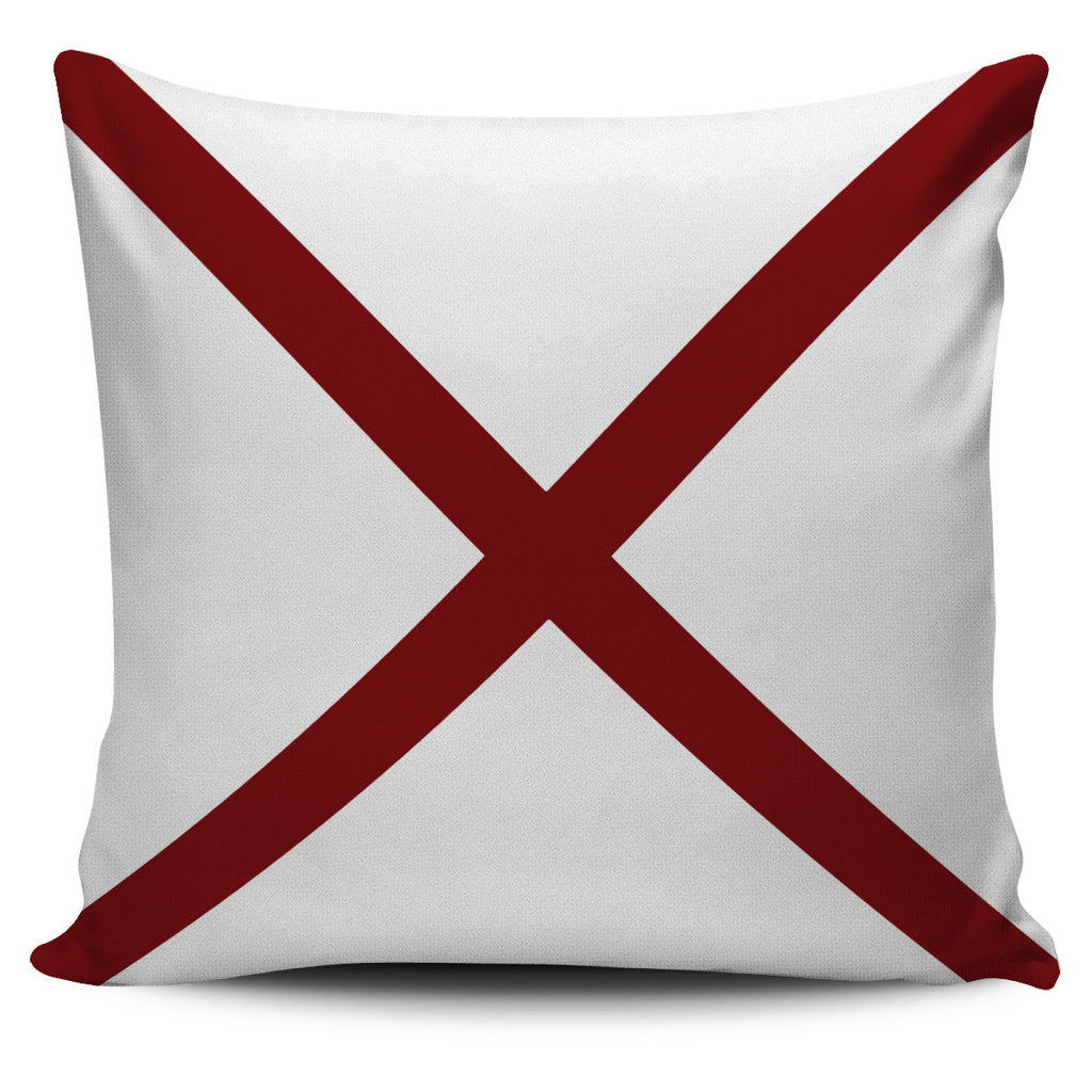 Letter V - Nautical Signal Flag Pillow Cover