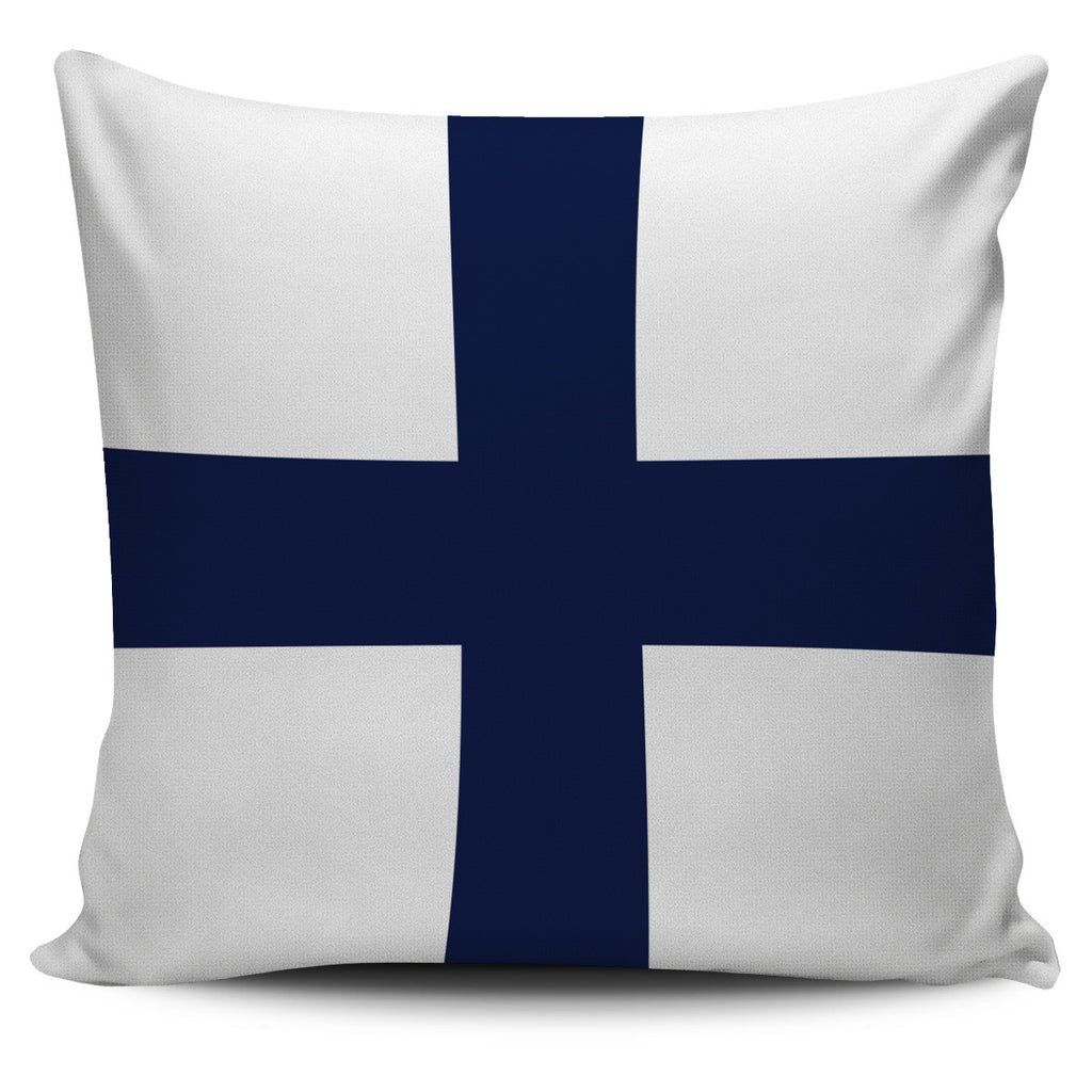 Letter X - Nautical Signal Flag Pillow Cover