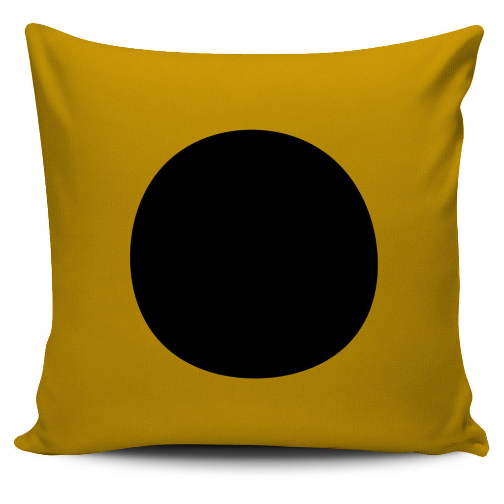 Letter I - Nautical Signal Flag Pillow Cover