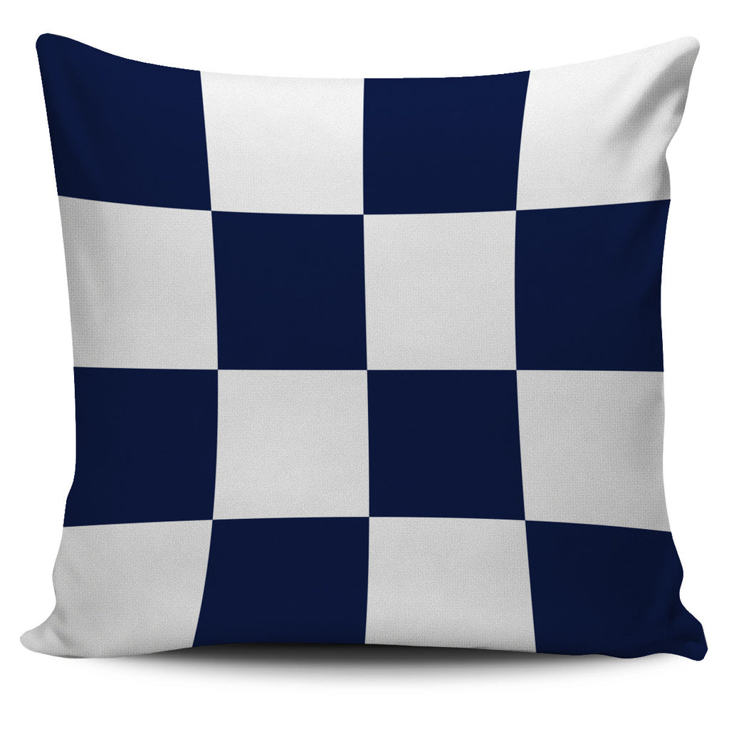 Letter N - Nautical Signal Flag Pillow Cover